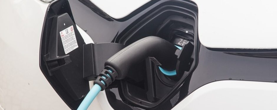Charging Station for New Electric Car